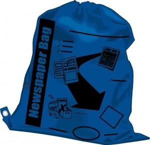 Blue (Newspaper) Bag