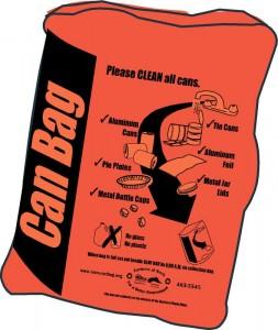 Orange (Can & Carton) Bag