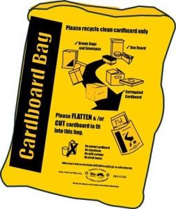 Yellow (Cardboard) Bag