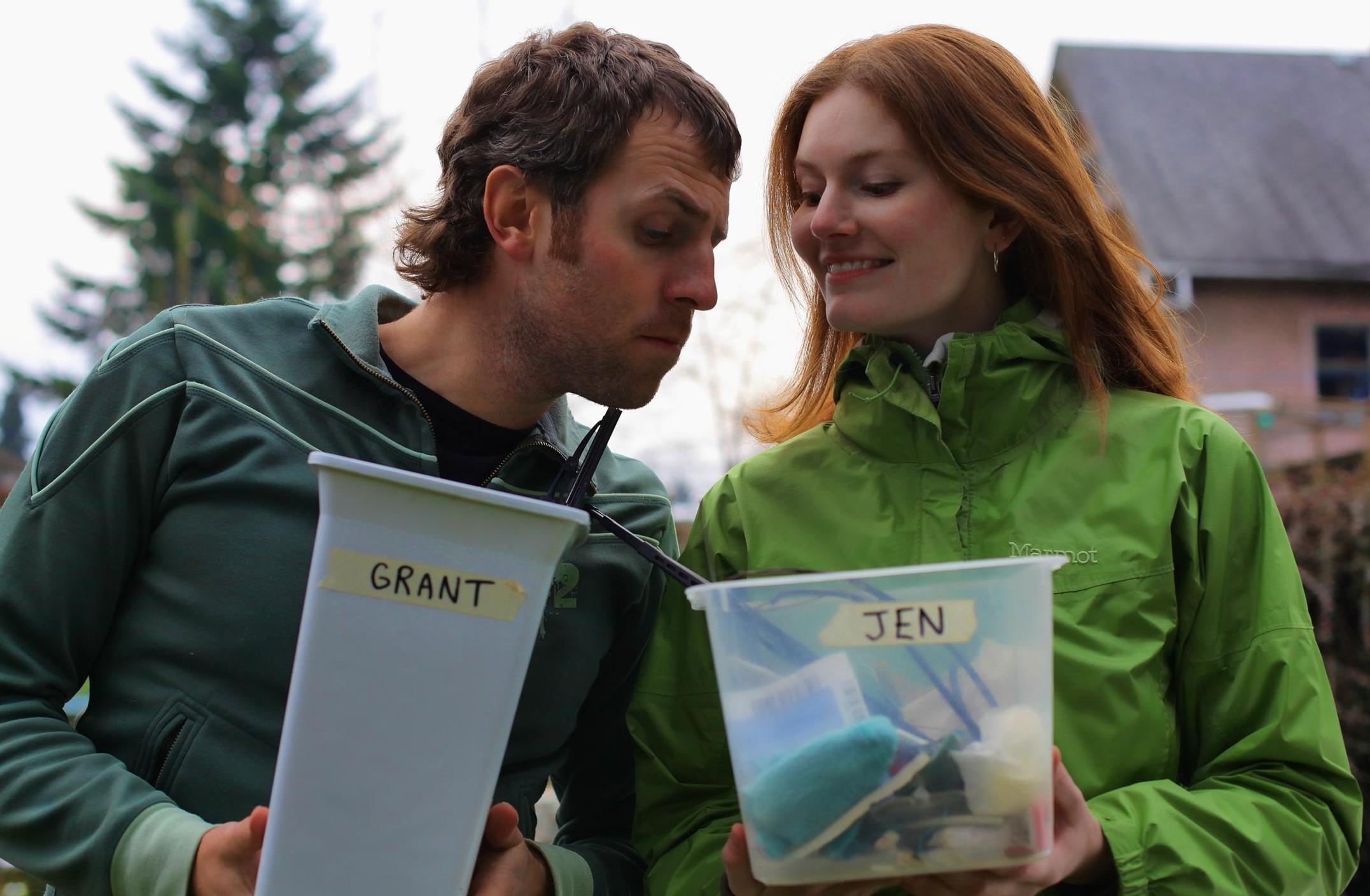 Jen & Grant - Clean Bin Project
