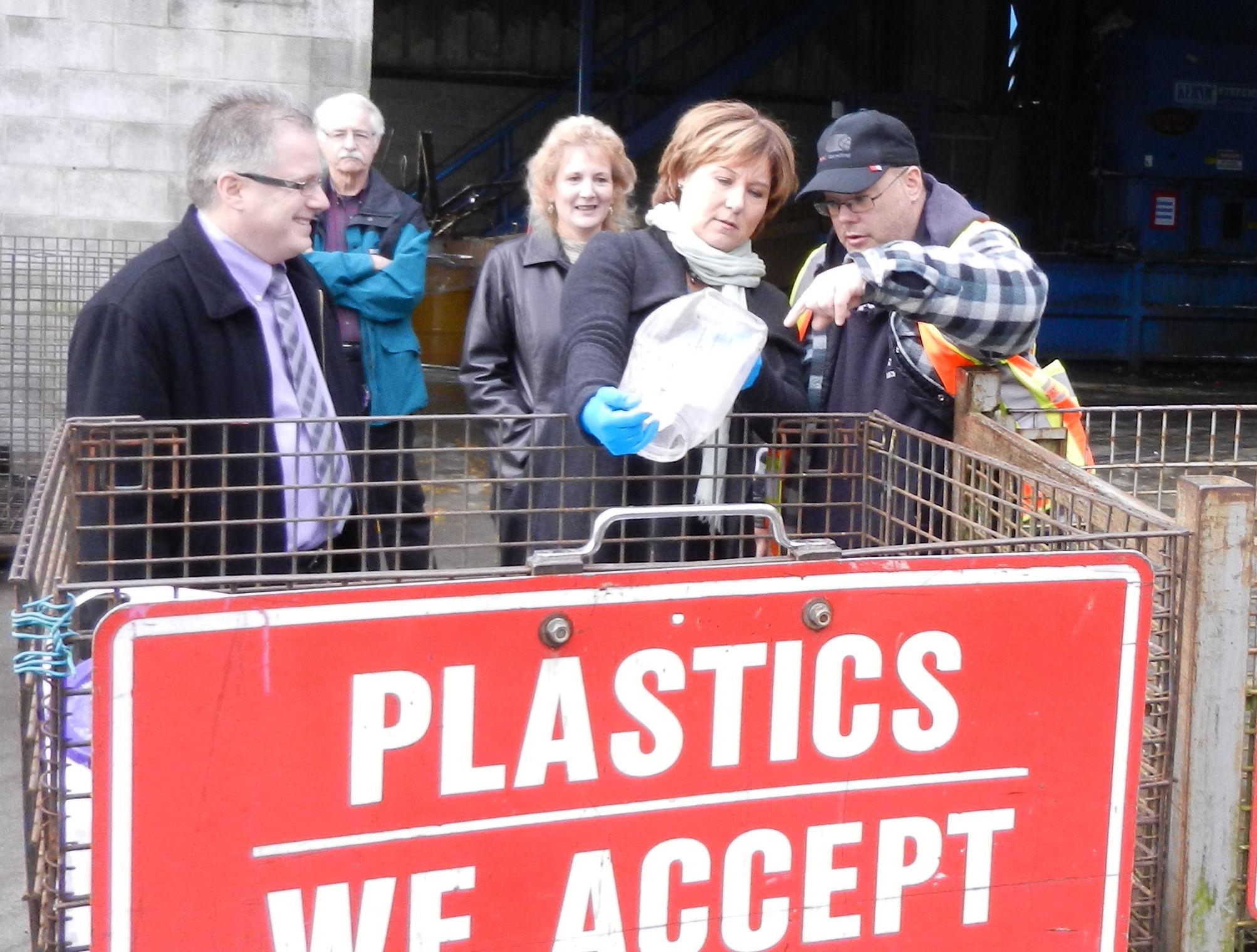 Premier Christie Clark at RMRS - Jan, 2012